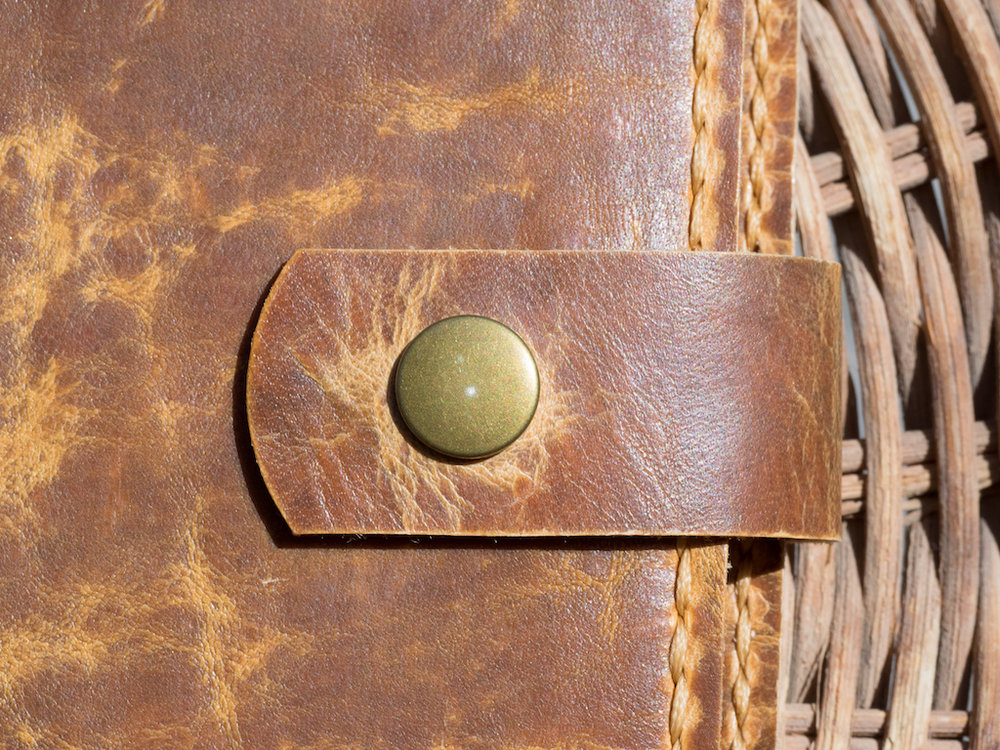 Makers South Leather A5 Notebook Cover Snap