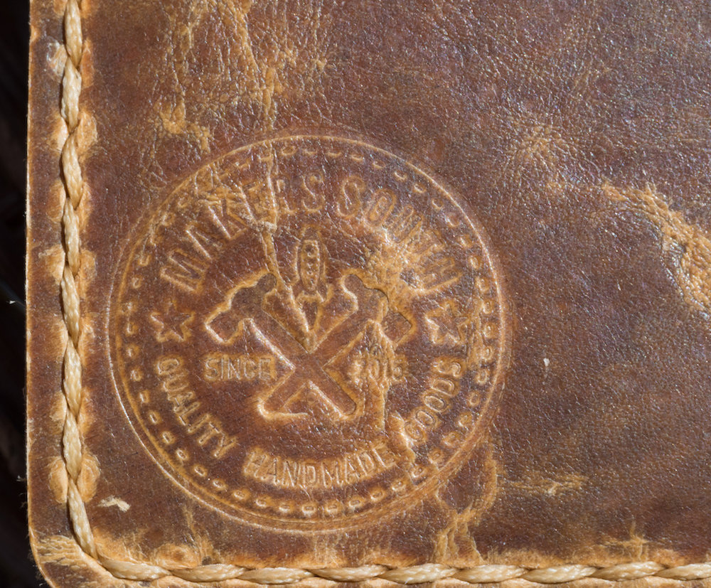 Makers South Leather A5 Notebook Cover Logo