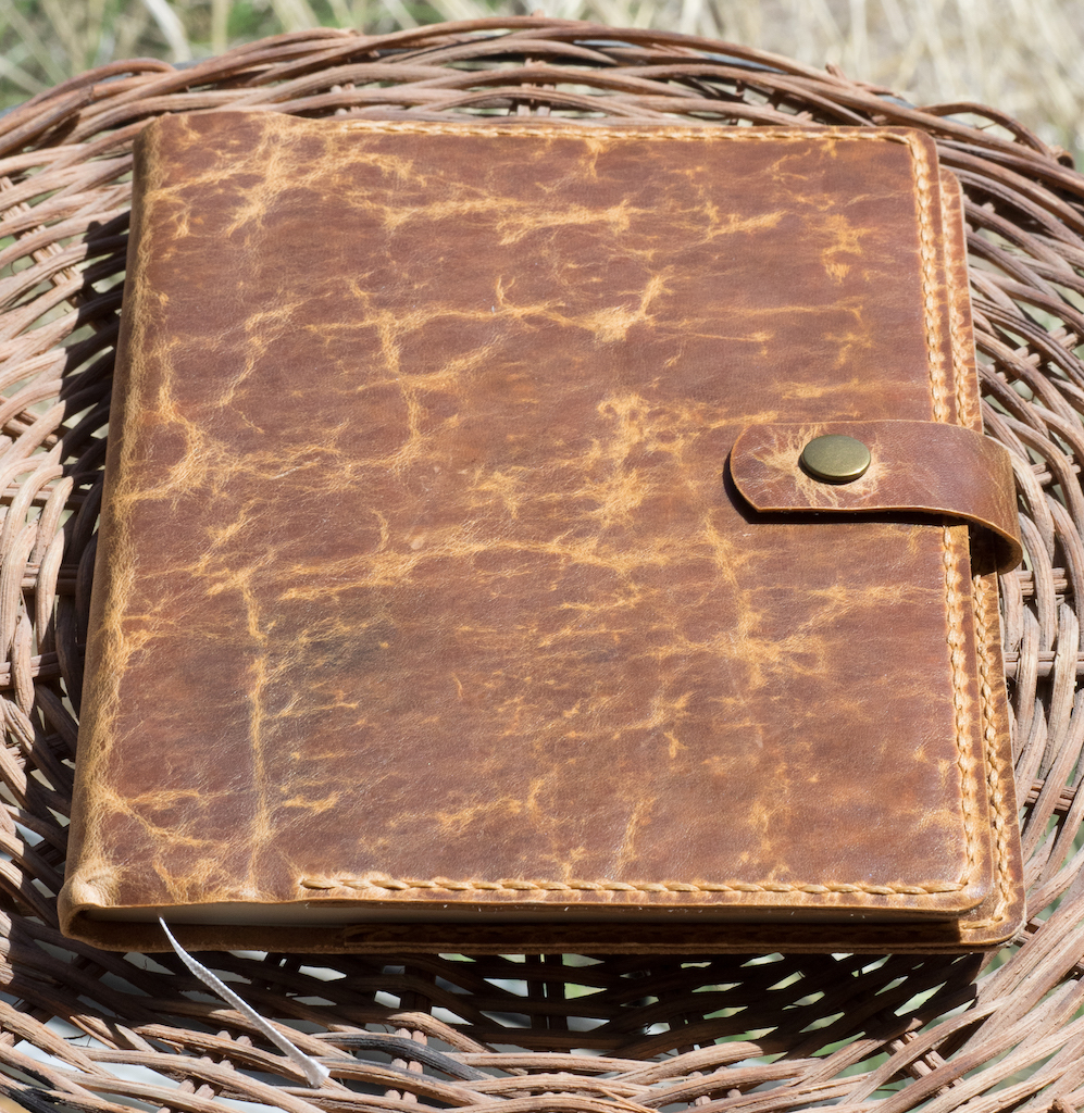 Makers South Leather Notebook Cover