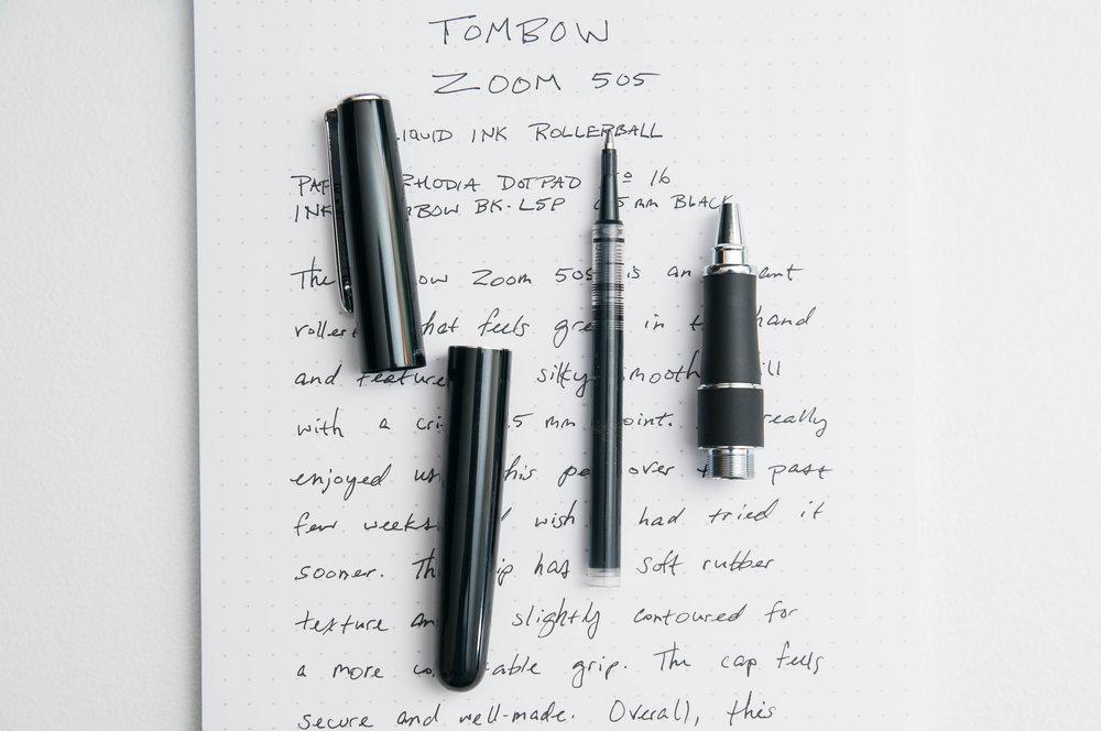 Tombow Zoom 505 Rollerball Pen Grip