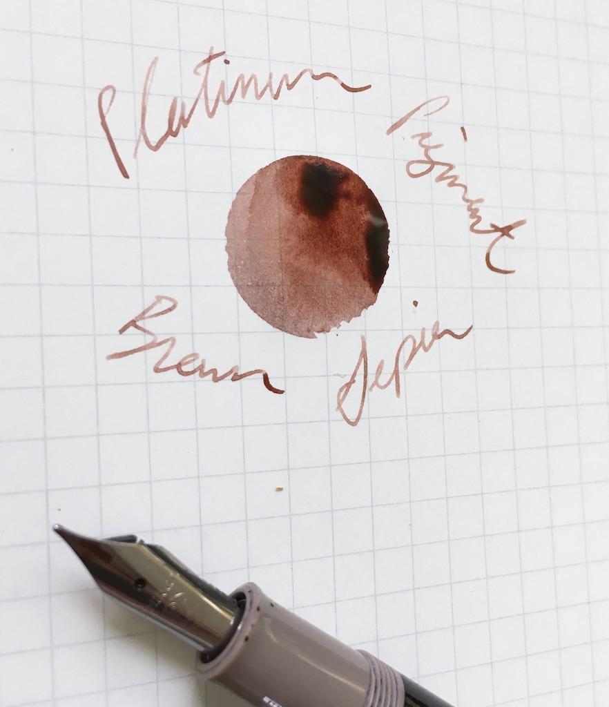 Platinum Pigment Brun Sepia Ink