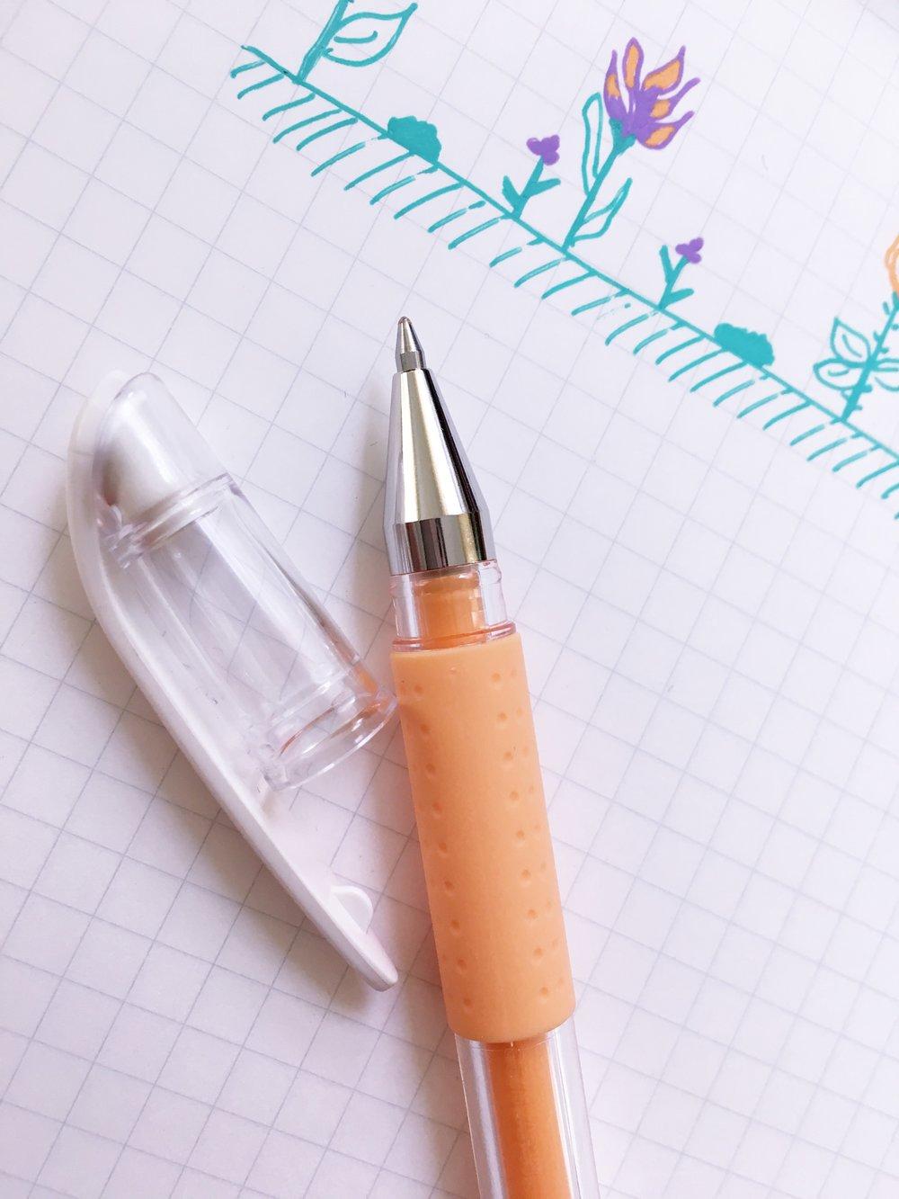 Uni-ball Signo DX Pastel Gel Pen