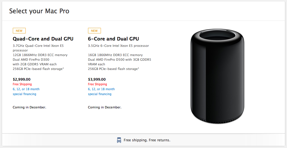 Mac Pro Pricing