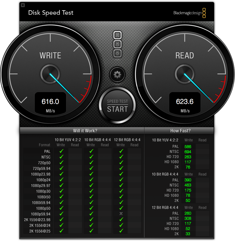 Speed Test of DDP after install