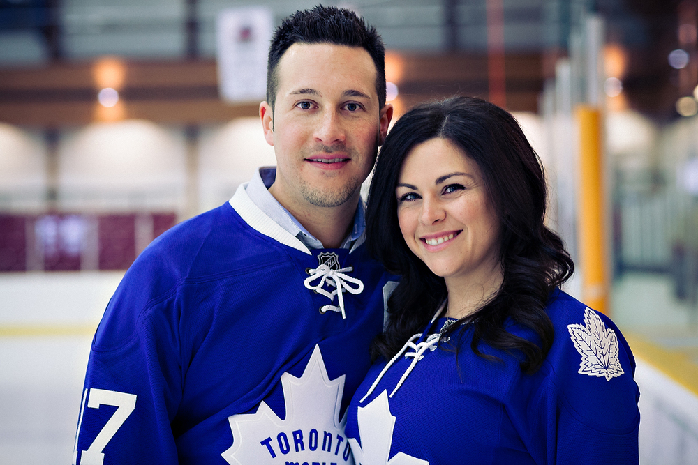 Toronto Wedding Photographer | Toronto Maple Leafs | Engagement |