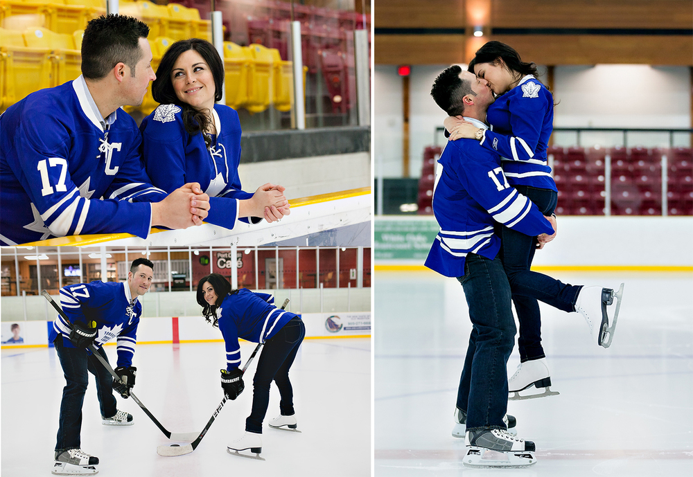 Toronto Wedding Photographer | Cute Maple Leafs