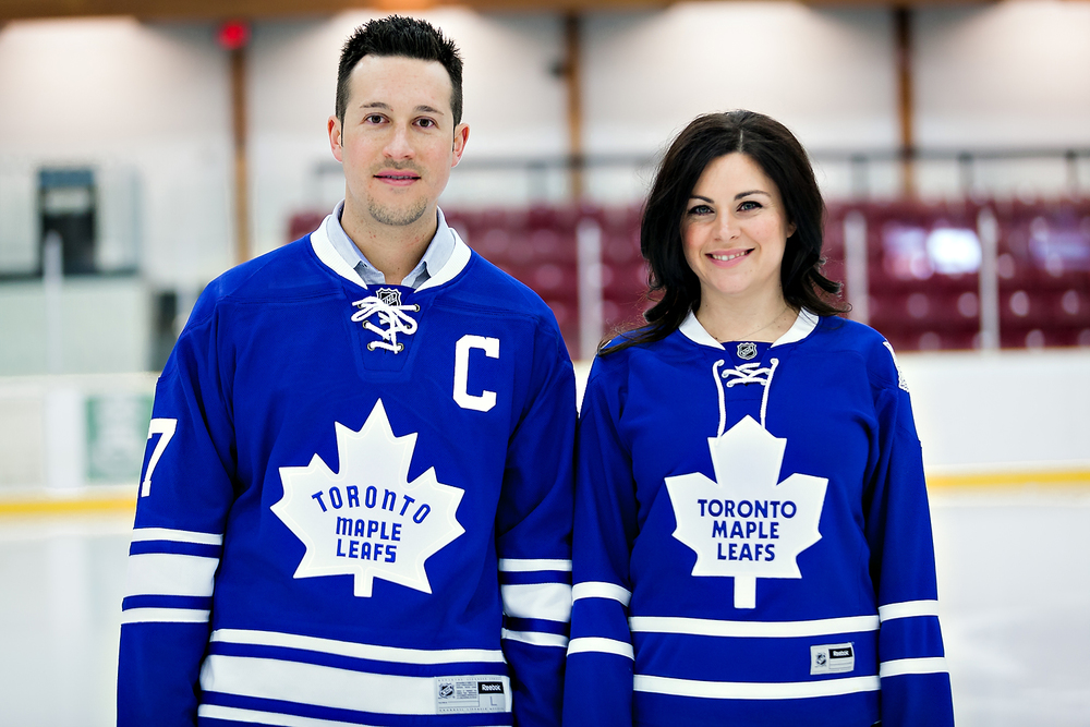 Toronto Wedding Photographer | Toronto Maple Leafs Inspired