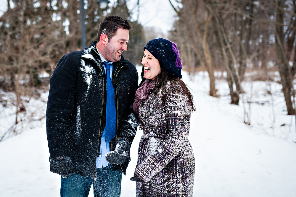 Cute Toronto Engagement Photography