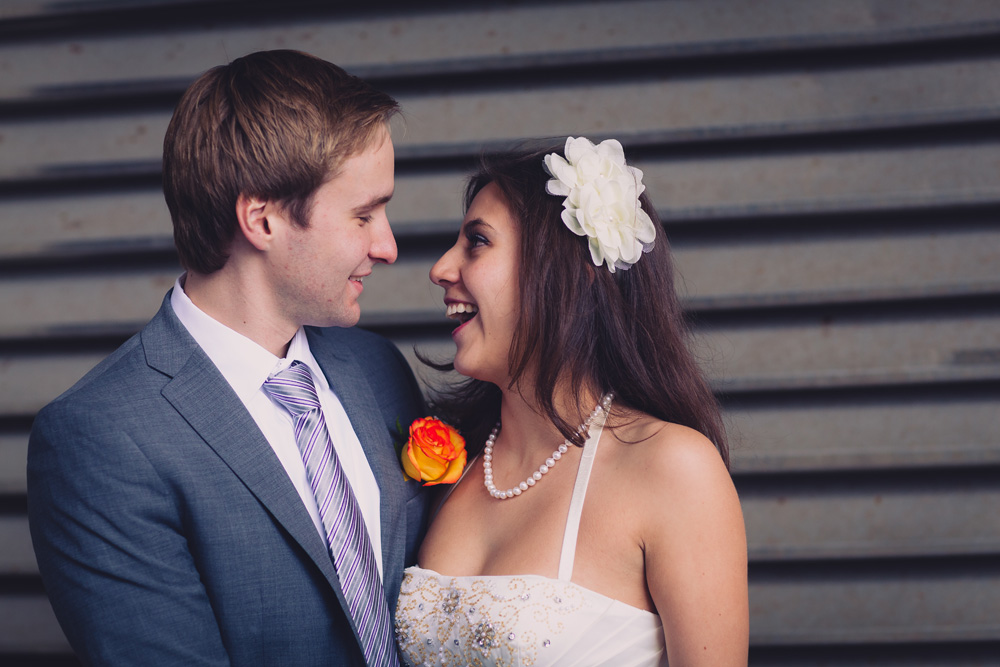 Fun Toronto City Hall Wedding