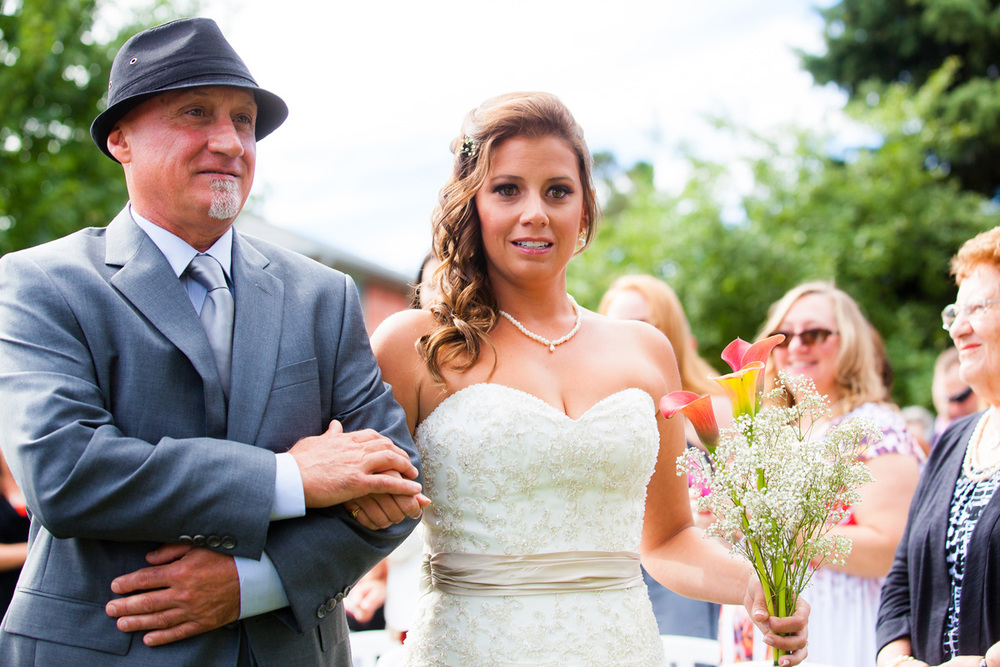 Toronto Bride and Father