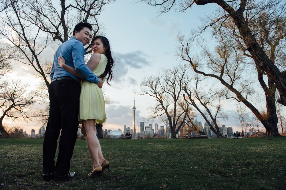 Epic Toronto Engagement