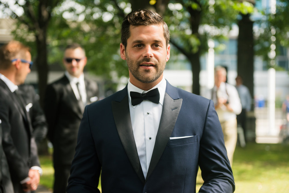 Outdoor Toronto Wedding