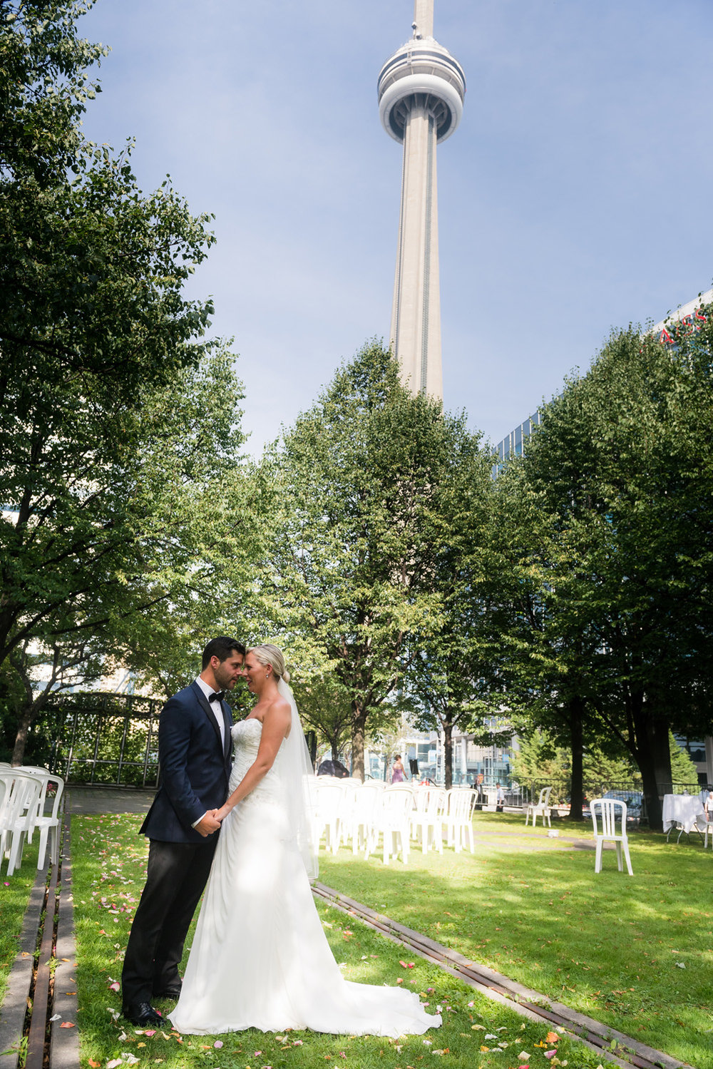Toronto Wedding CN Tower