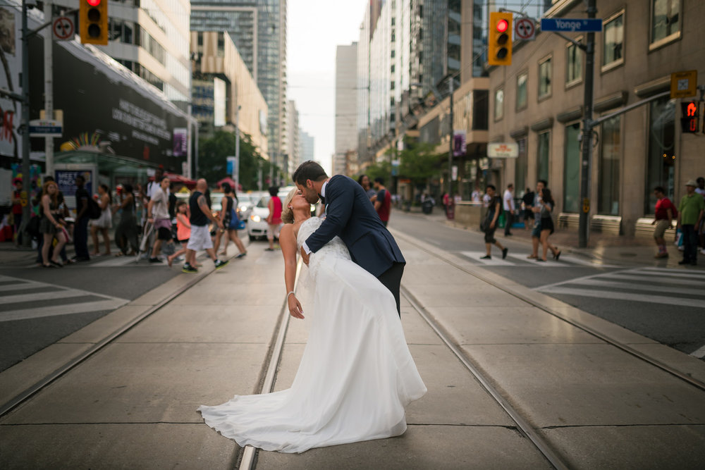 Yonge St Wedding Photographer