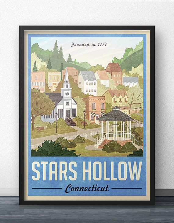 Vintage Travel Poster by WindowShopGal