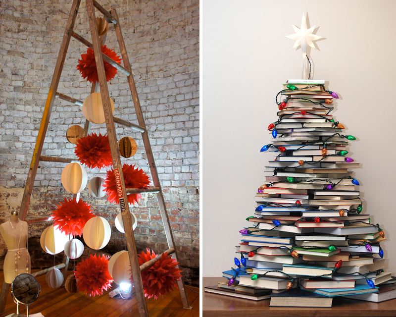1. Ladder Tree  2. Book Tree