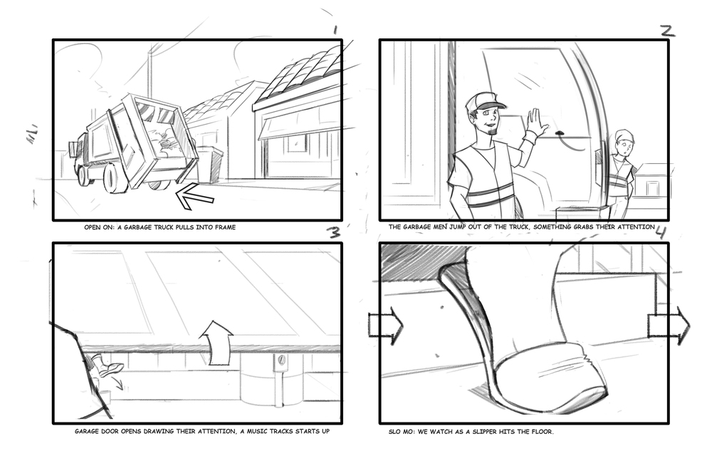 Sample Storyboards for Commercial