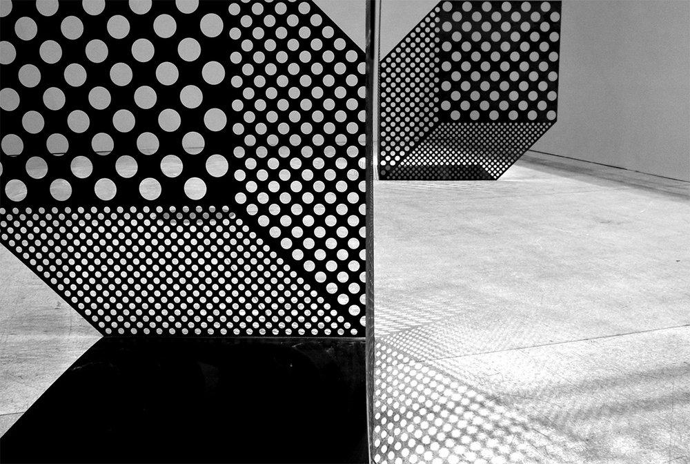 360Cubes .Moscou. Artmosphere Biennale. Septembre 16  Stainless steel 500 cm x 1000 cm x 250 cm