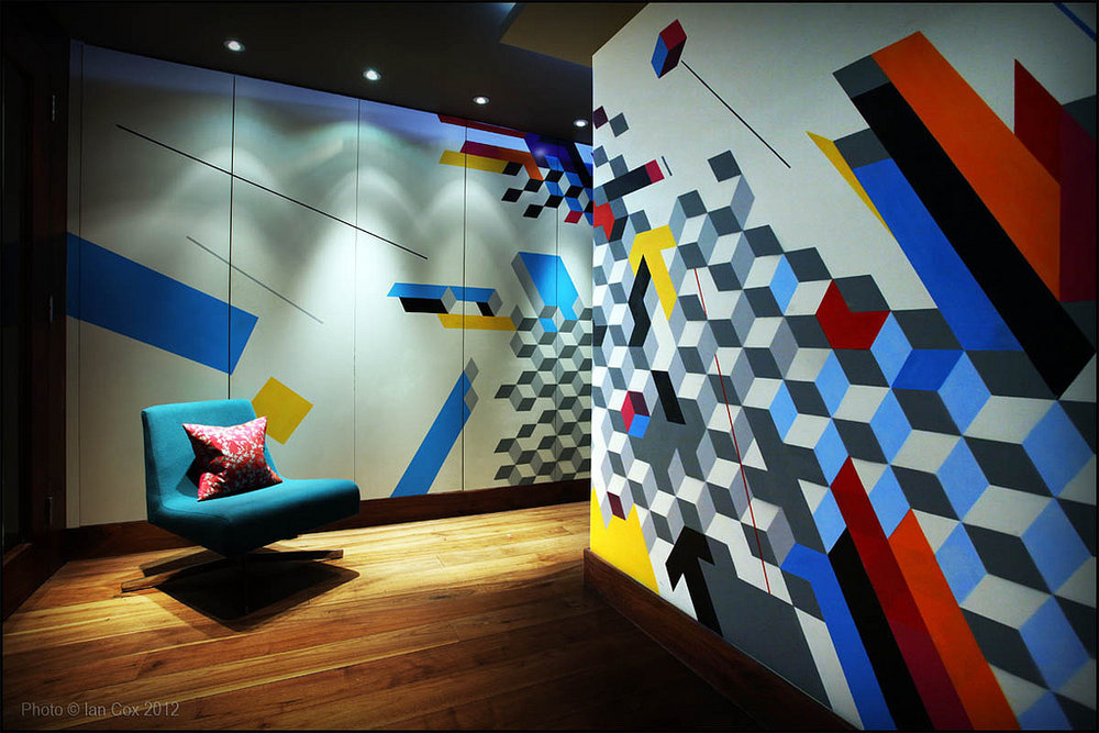 Megaro Hotel interior .Megaro hotel desk with Remi Rough . Most of the Megaro project Pics by  Ian Cox . 2012