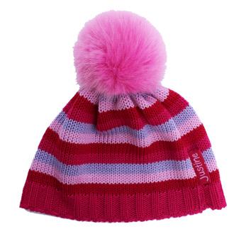 merino wool striped baby beanie