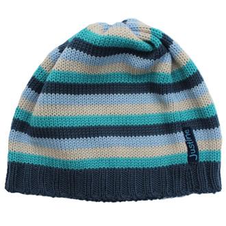 merino wool knitted stripy baby beanie