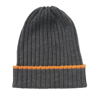 made to order mens merino wool ribbed knitted beanie