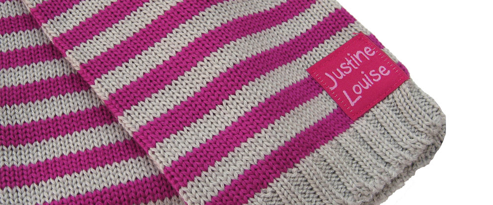 made to order baby girls knitted scarves