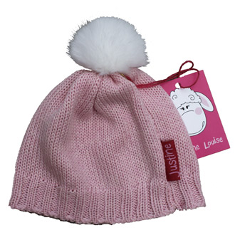 baby girls merino wool knitted beanies