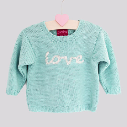 merino knitted baby jumpers