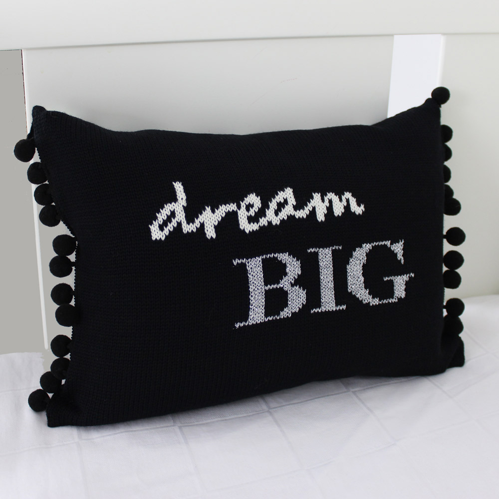 luxury knitted kids cushions