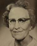 Ethel Gerber, Faculty, 1964 Chillicothe High School yearbook photo