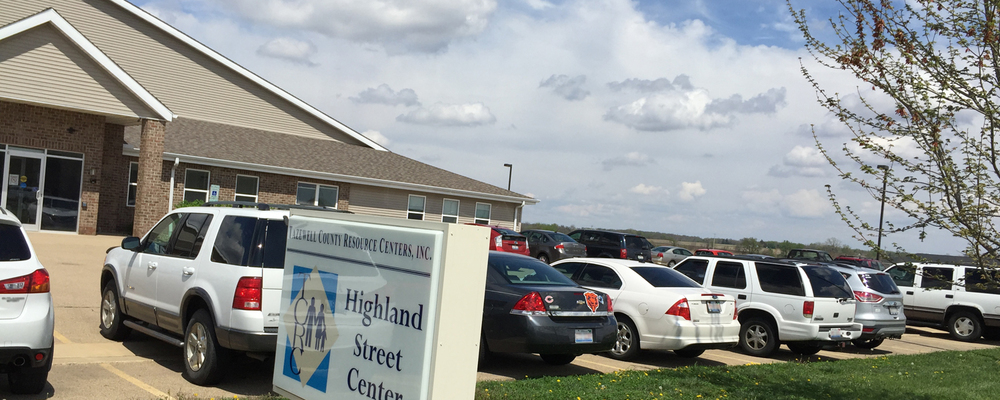 TCRC's Highland Street Center, located in Morton.