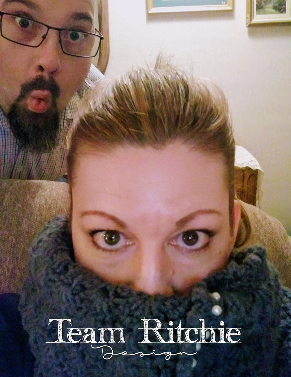 Christian (L), and Heather (R) Ritchie, of Team Ritchie
