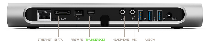 Belkin's new Thunderbolt Express Dock offers impressive expansion capabilities, including three USB 3.0 ports. But it comes at a very hefty price on top of the cost of the display
