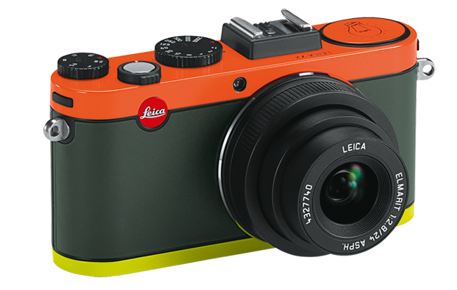 Can Jonathan Ive do a better job of his Leica M edition than Paul Smith did with the X2? As an antidote to the Monochrom, this garish little point-and-shoot takes some beating. And doesn't that red dot clash with the orange? It is one of 1,500 special edition X2s. The Ive Leica M will be one of one.