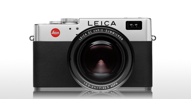 Big beastie: It is the size of a Leica M and sports a massive (and massively competent) 27-90 zoom lens (f/2.0-f2.4) but a miniscule 5MP sensor. It was the dog's bollocks in 2003. (Source: Leica AG)