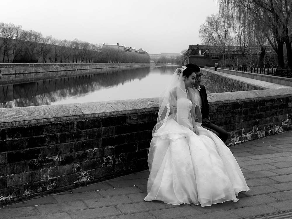 Forbidden city, married bliss. Leica X2, f/5 at 1/200s, ISO 100