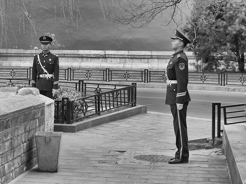 Changing of the guard: Leica X2, f/4 at 1/80s, ISO 100