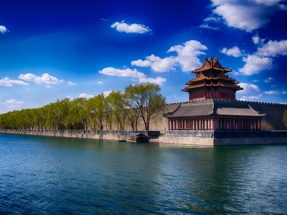 The obligatory tourist shot, north east corner of the Forbidden City. Leica X2, f/6.3 at 1/1000th. ISO 100. Post processed in Nik Color Efex Pro