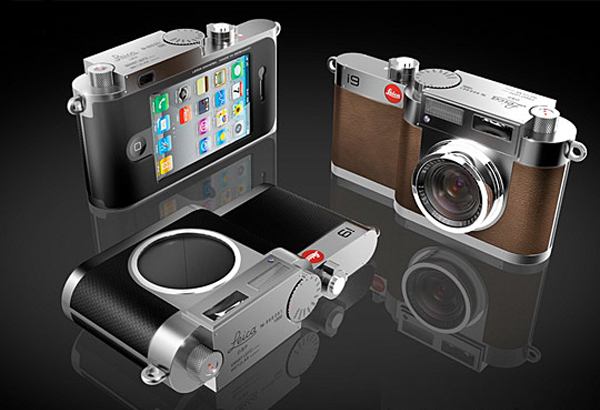 Ok, this one is just a concept but it would surely appeal to Leica fans