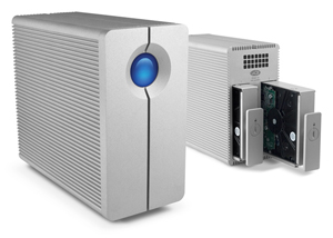 High on the list--the LaCie 2big Thunderbolt drive which comes in 4, 6, 8 and 10TB capacity