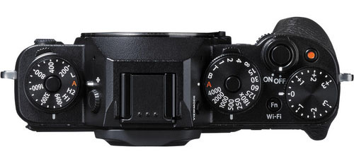 In addition to the traditional shutter-speed dial (which is all you get on your Leica M), the X-T1 gives you an exposure compensation dial (right) and the unusual but very welcome addition of a dedicated ISO dial (left).