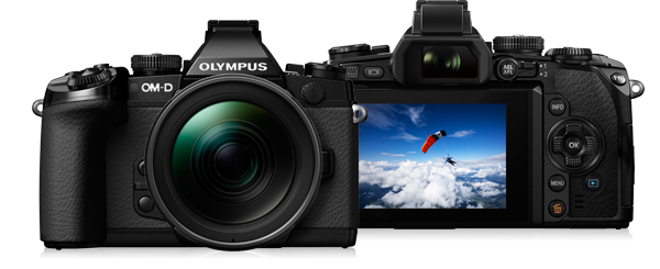The Olympus OM-D EM-1 is an acclaimed Micro Four Thirds system camera that offers great performance in a small package. It is technically advanced, with five-axis stabilisation and a host of features that will certainly out-gun the Leica on the specs sheet.