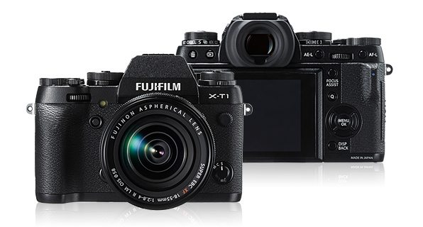 The Fuji XT-1 is certainly the nearest and strongest competitor for the new Leica T. Well made, featuring full manual controls (including an ISO setting dial) and a range of really great lenses, the Fuji provides rock-solid competition. Note the built-in viewfinder (and a class-leading one at that) and contrast with the lack of a viewfinder on the new Leica T.