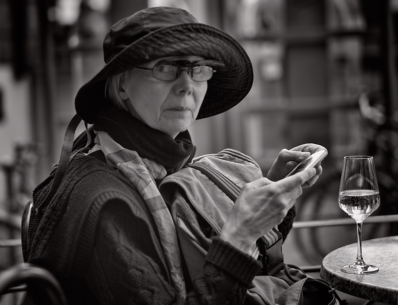 Texting And A Glass Of Wine.jpg
