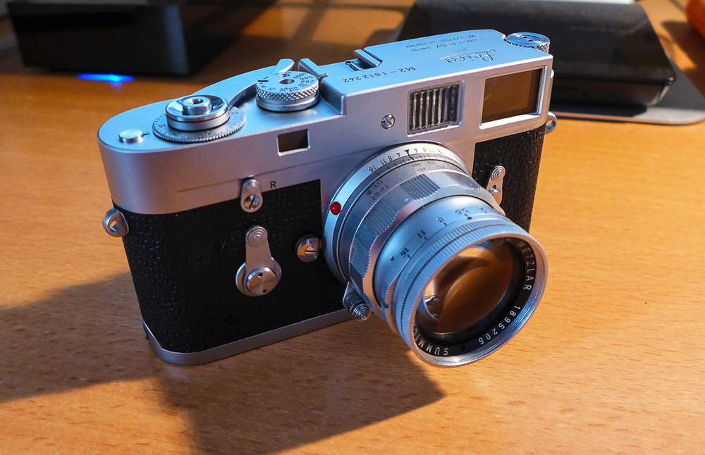Ivor Cooper of Red Dot Cameras  believes the camera and lens have been in wedlock since birth, an unusual find