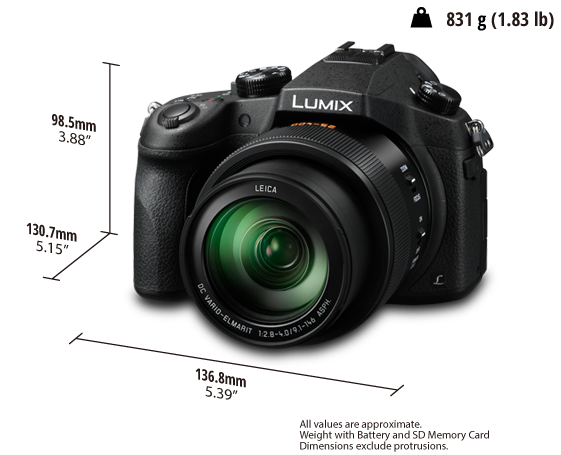 Super zoom, super bridge, Panasonic's new FZ1000