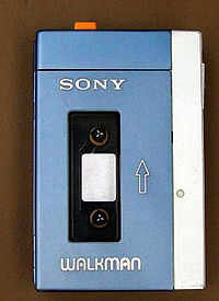 Sony's first Walkman. Photo Wiki Commons