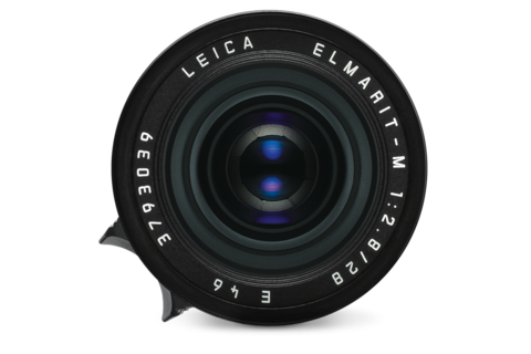 The Elmarit: Wide, reasonably fast and with that focus tab that I find essential on smaller Leica lenses. it's a dinky-do solution, making even the hefty M feel small (Photo: Leica)