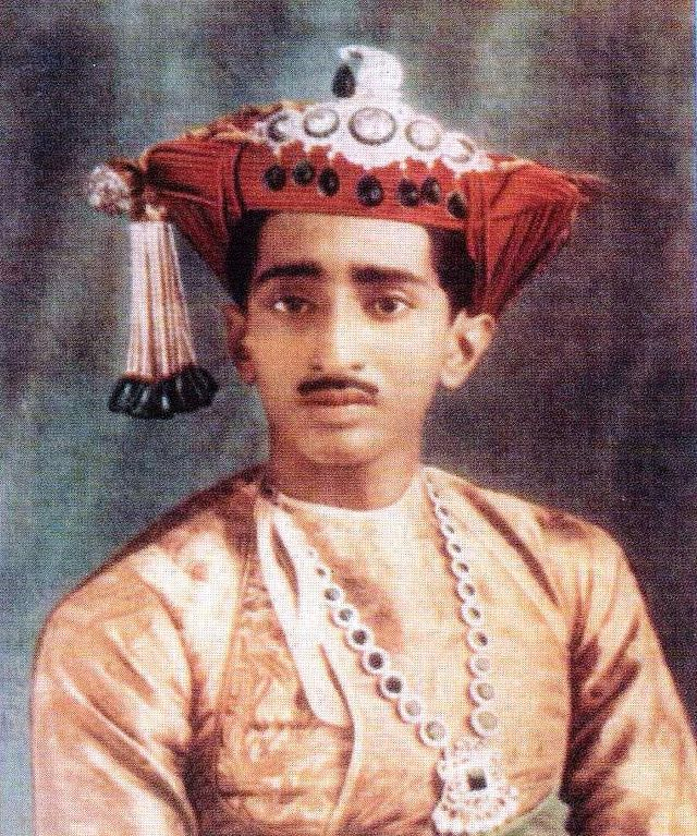 Yaswant Rao Holker, 14th Maharaja of Indore (Wiki commons)